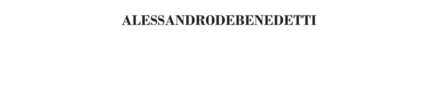 Alessandro De Benedetti | Collezione Abiti da Donna| AGEMINA Boutique